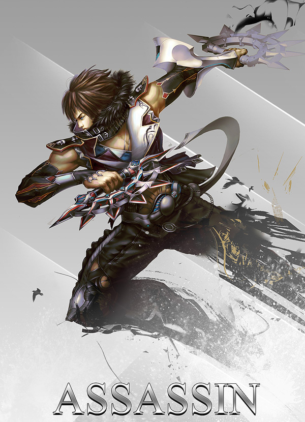 Picture-22 ( 25 Stunning Game Character Designs and Fantasy Digital Art works by Hong Yu-Cheng )